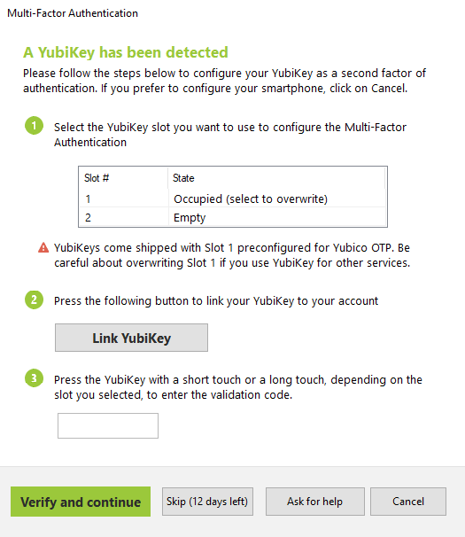 yubikey-detected-MFA